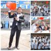 """Latinos salen masivamente en apoyo a la Fundación """"ALS"""" , haciendo la cubeta del baño de agua fría."""