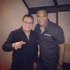 Johnny Pacheco e Ismael Miranda: saludaron la nueva generación de salseros dominicanos