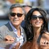 George Clooney se casó el sábado en Venecia con la abogada Amal Alamuddin
