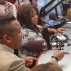 Alex Matos y Peña Suazo improvisando encendieron la navidad de Rumba 98.5 FM