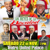 Los Reyes De La Navidad: Sábado 22 de Noviembre en el Teatro United Palace