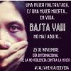 Una Mujer maltratada, es una Mujer muerta en vida.