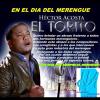 """Mensaje de """"Héctor Acosta"""" en el día del Merengue"""
