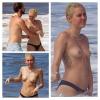 Miley Cyrus: Disfrutó en topless junto a su novio en Hawaii