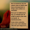 "De mi libro Vivencias – ""Por tu Ausencia"""
