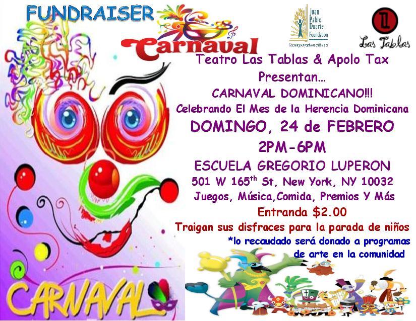 Carnaval Dominicano Para Niños Ny Febrero 24